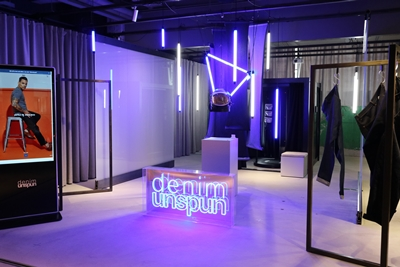Fashion startup Unspun opens a pop-up store in Techstyle X.