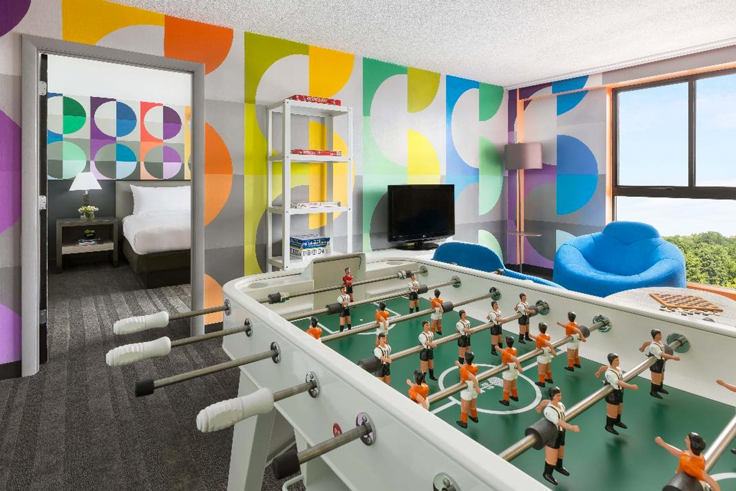 """Maria Molteni designed the Unplug & Play Suite, which features her """"Wavelength"""" piece."""