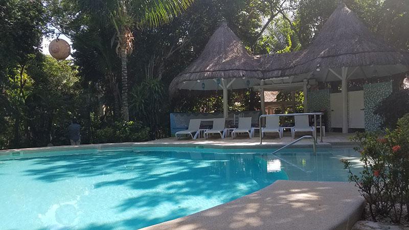 The resort's pool