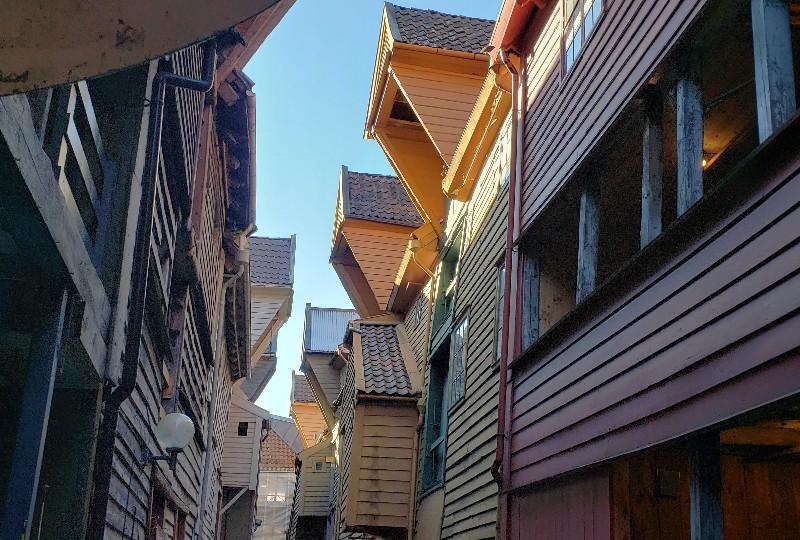 Architecture of Bryggen