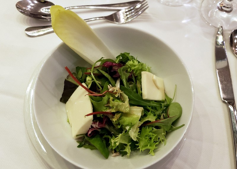 Salad in Main Dining Room
