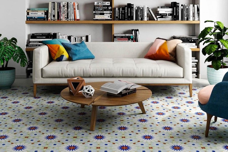Tile Bar launched the Bella collection of encaustic porcelain tiles.