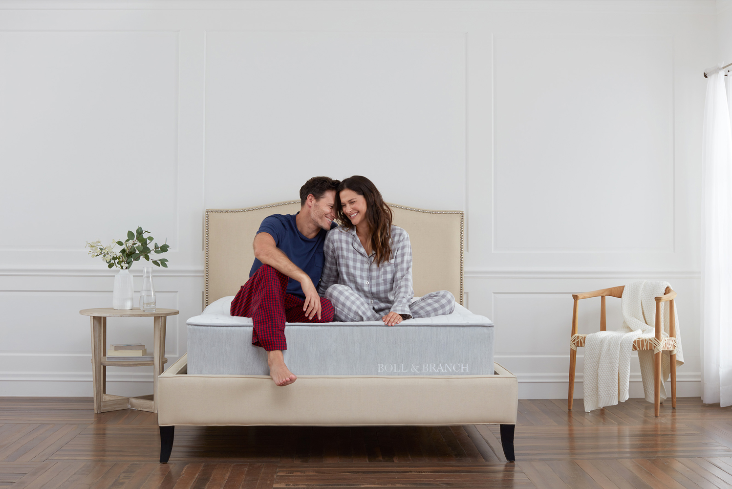Boll & Branch has launched its first mattress.