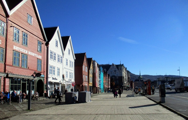 Historic waterfront of Bergen, Norway