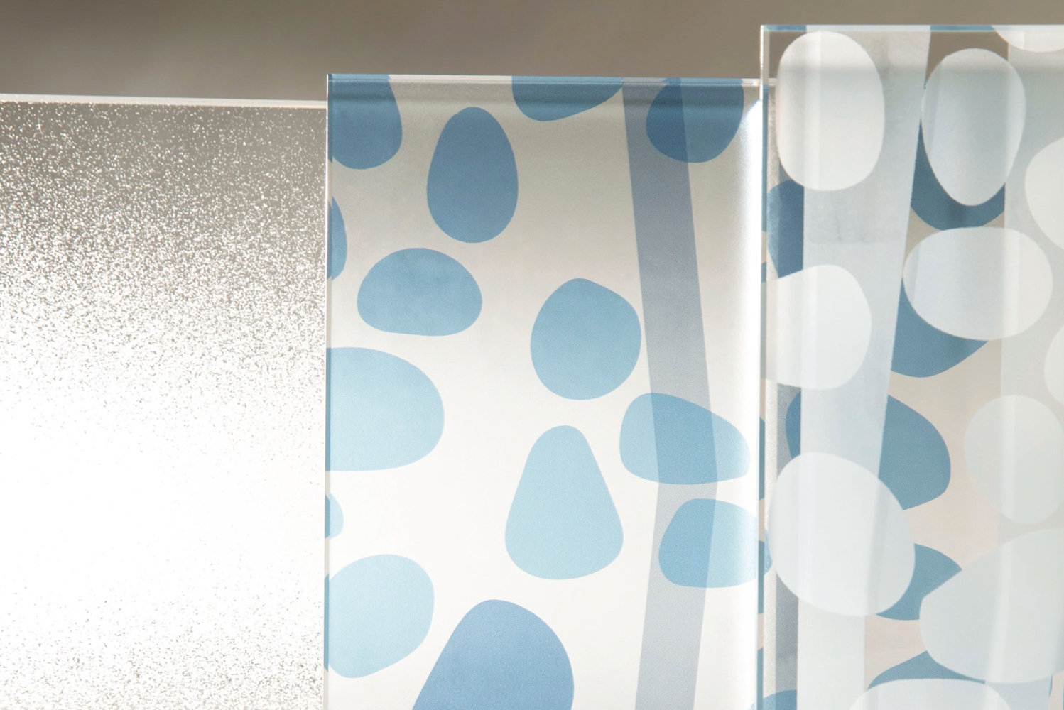 Skyline Design—with designer Rosalyn Cama—launched the Camaflage glass
