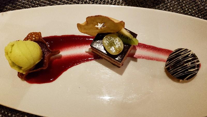 Chef's Table dessert
