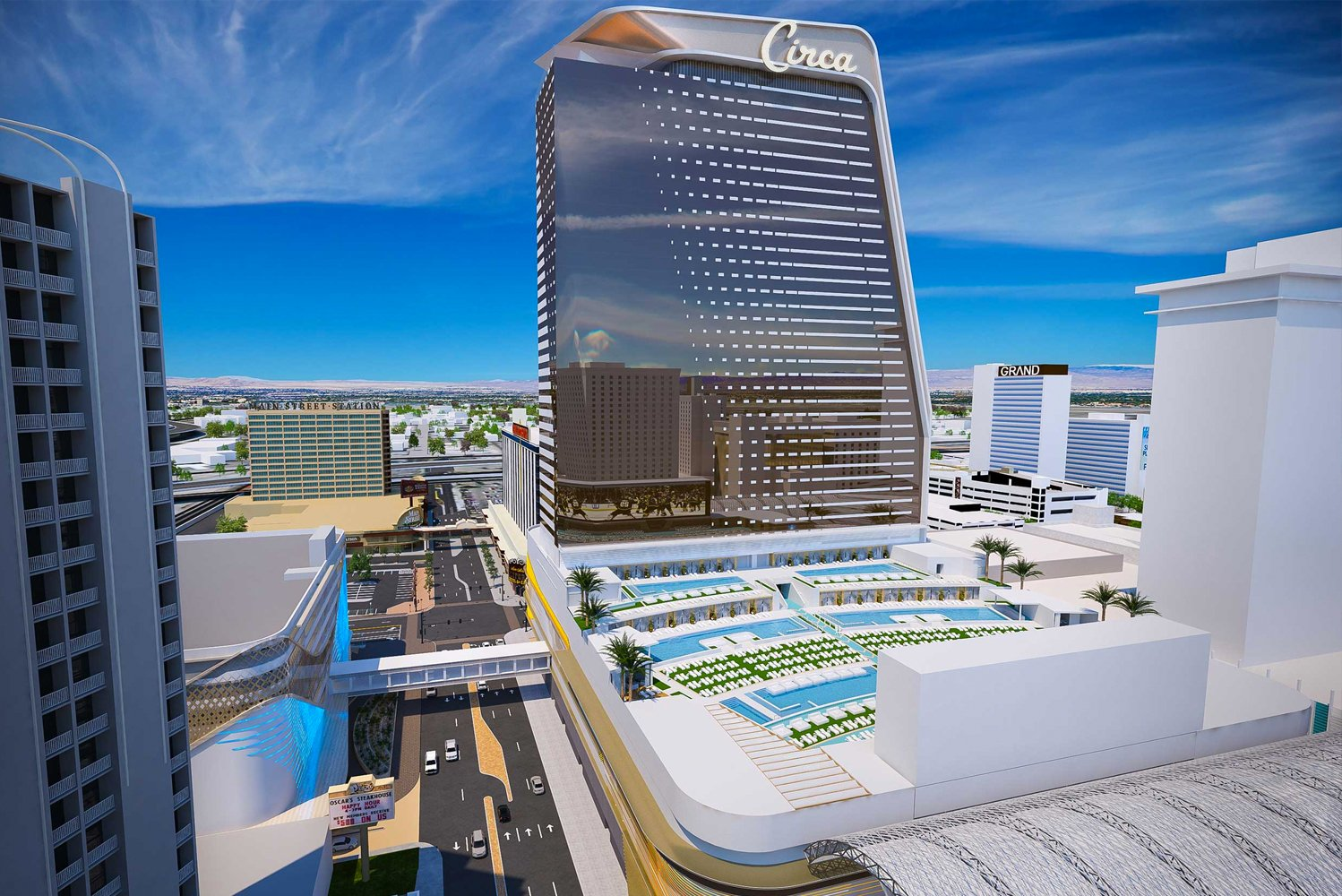 Developers and brothers Derek and Greg Stevens unveiled plans for Circa Resort & Casino, a brand-new integrated gaming resort in Downtown Las Vegas.
