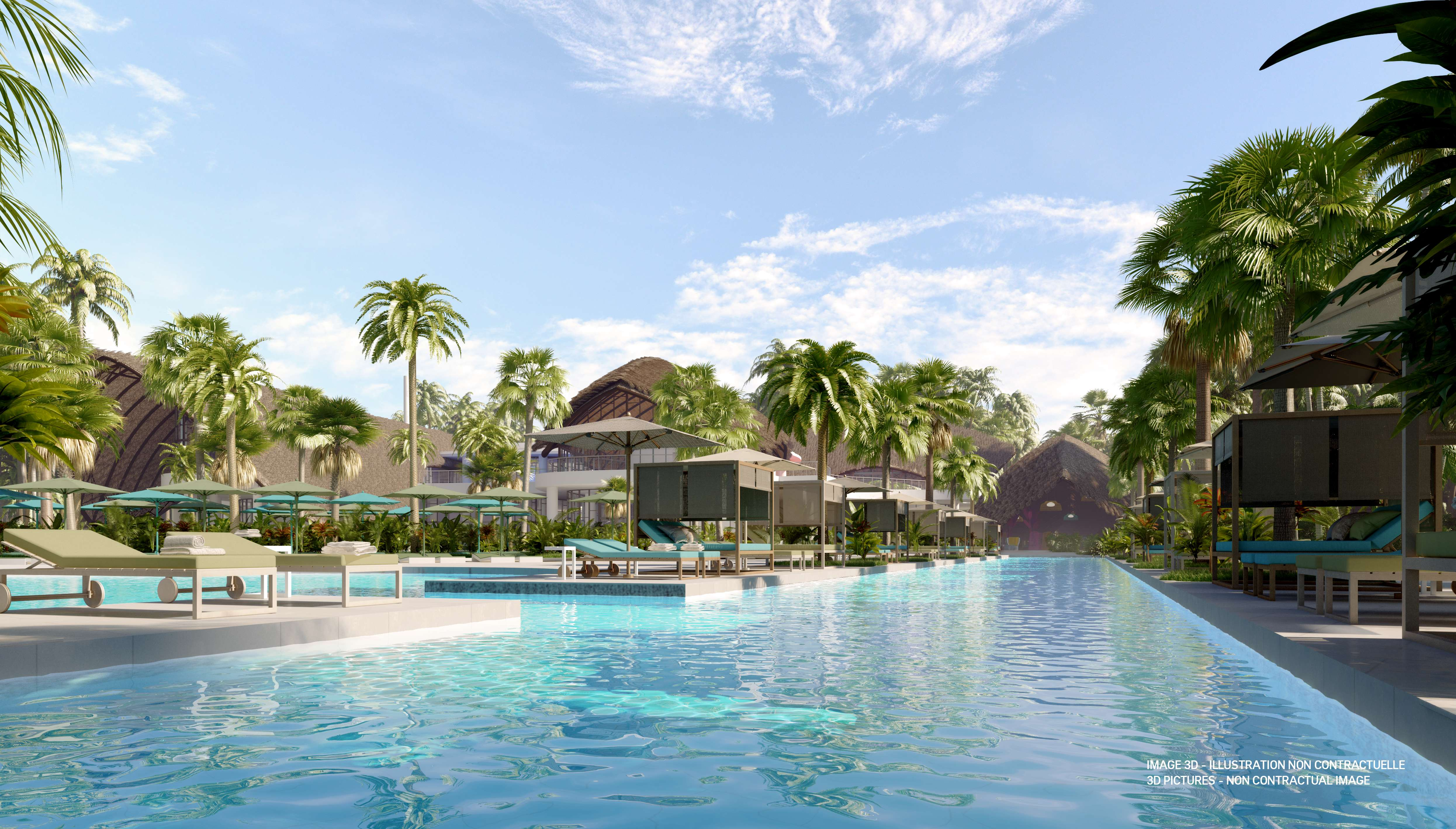 Once open, Club Med Michès Playa Esmeralda will have 335 guestrooms.