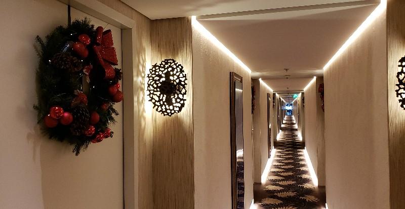 Guest Corridor on Violin Deck