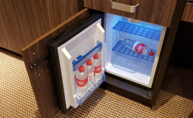 Refrigerator in #312