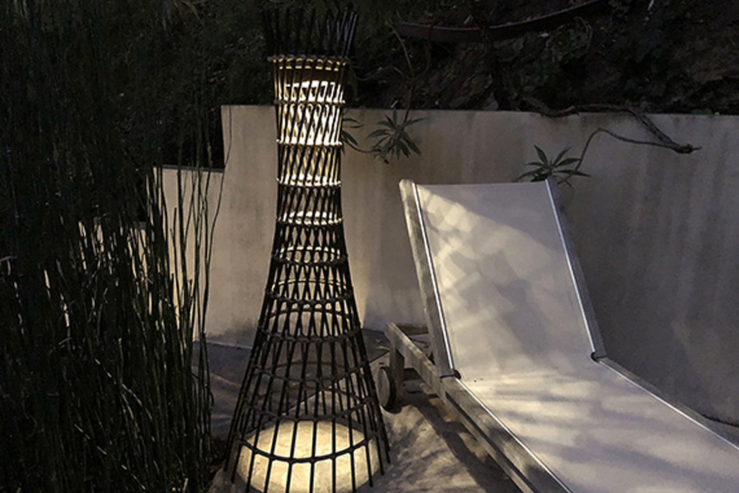 "The new design fuses vintage and modern elements to illuminate outdoor spaces with ""movement"" and light."