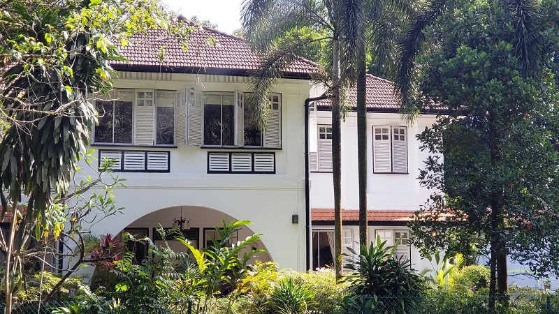A traditional home in Singapore