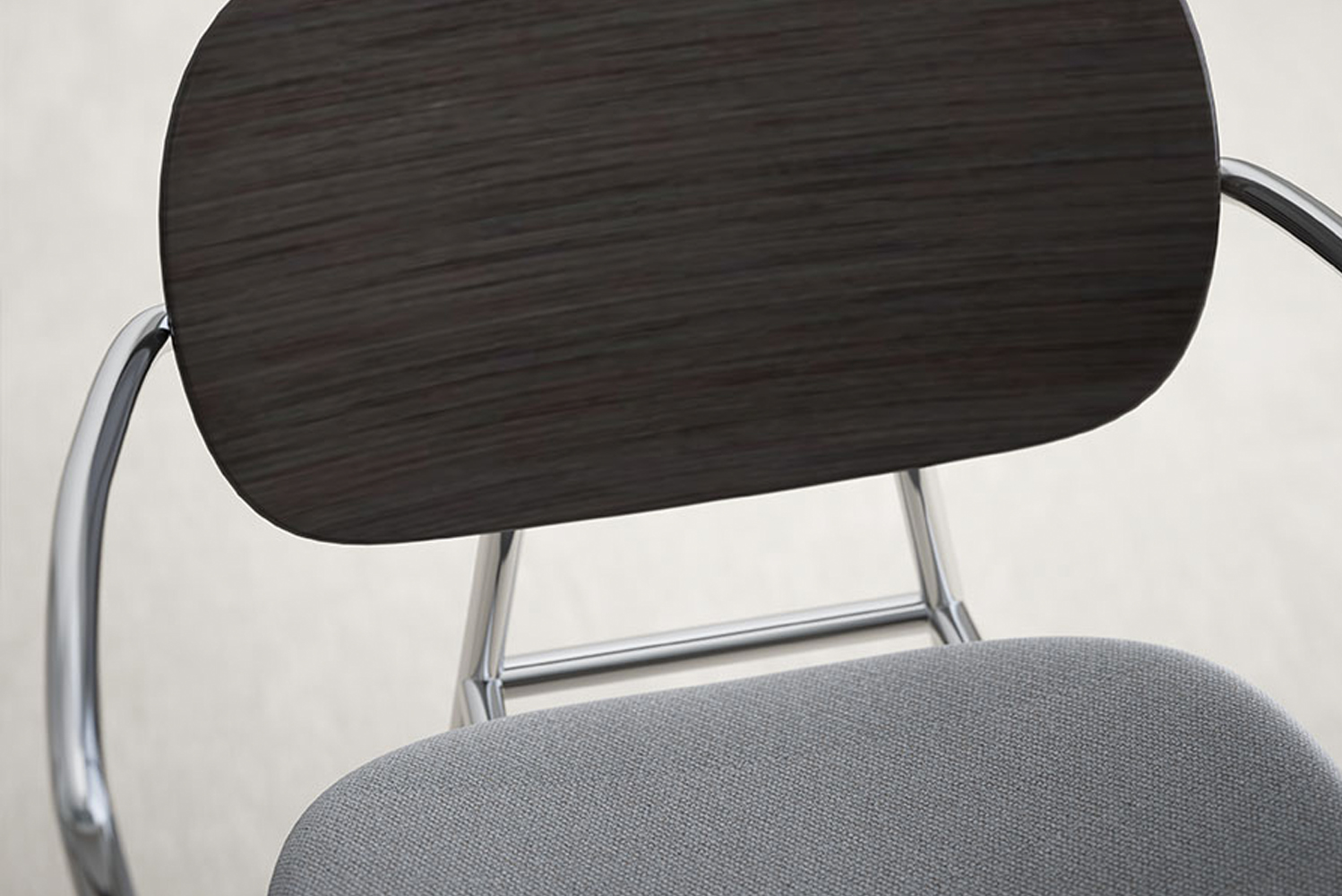 The collection includes chairs (with or without arms), as well as counter-height and bar-height stools.