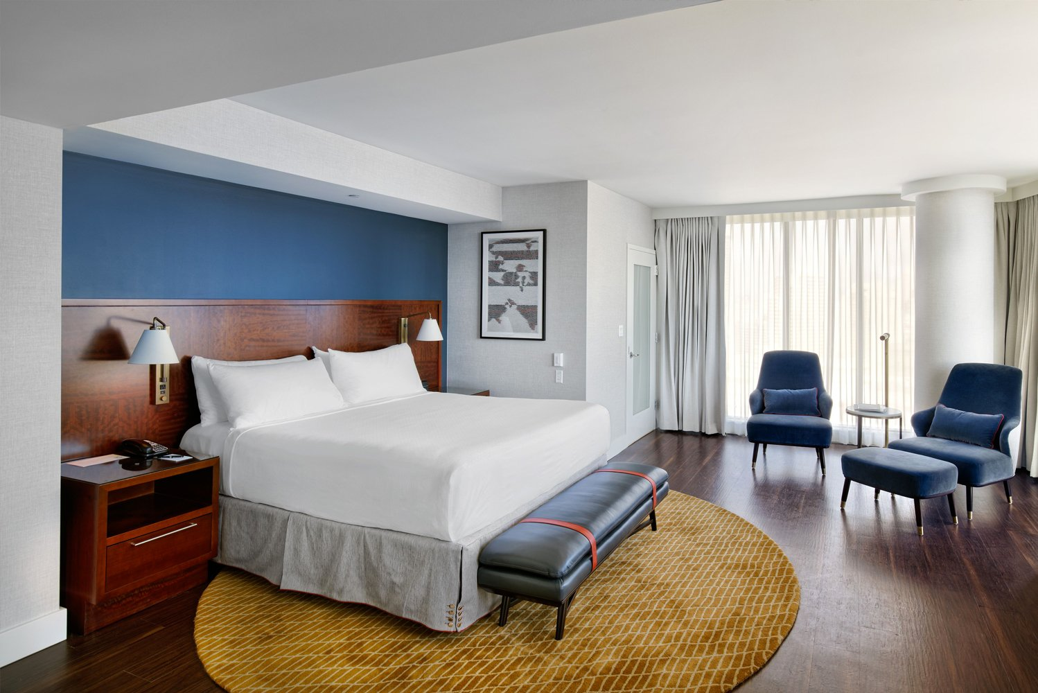 The InterContinental San Francisco Hotel is undergoing a top-to-bottom interior renovation.
