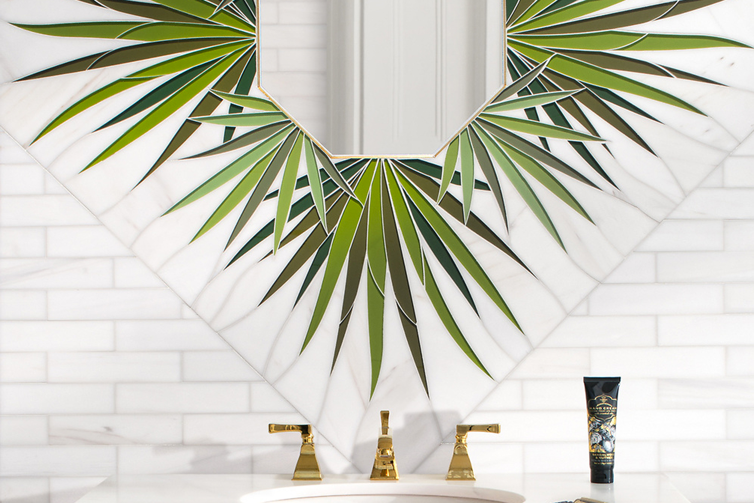 The collection includes Wings, a modern take on palmetto trees typically found in the American South.