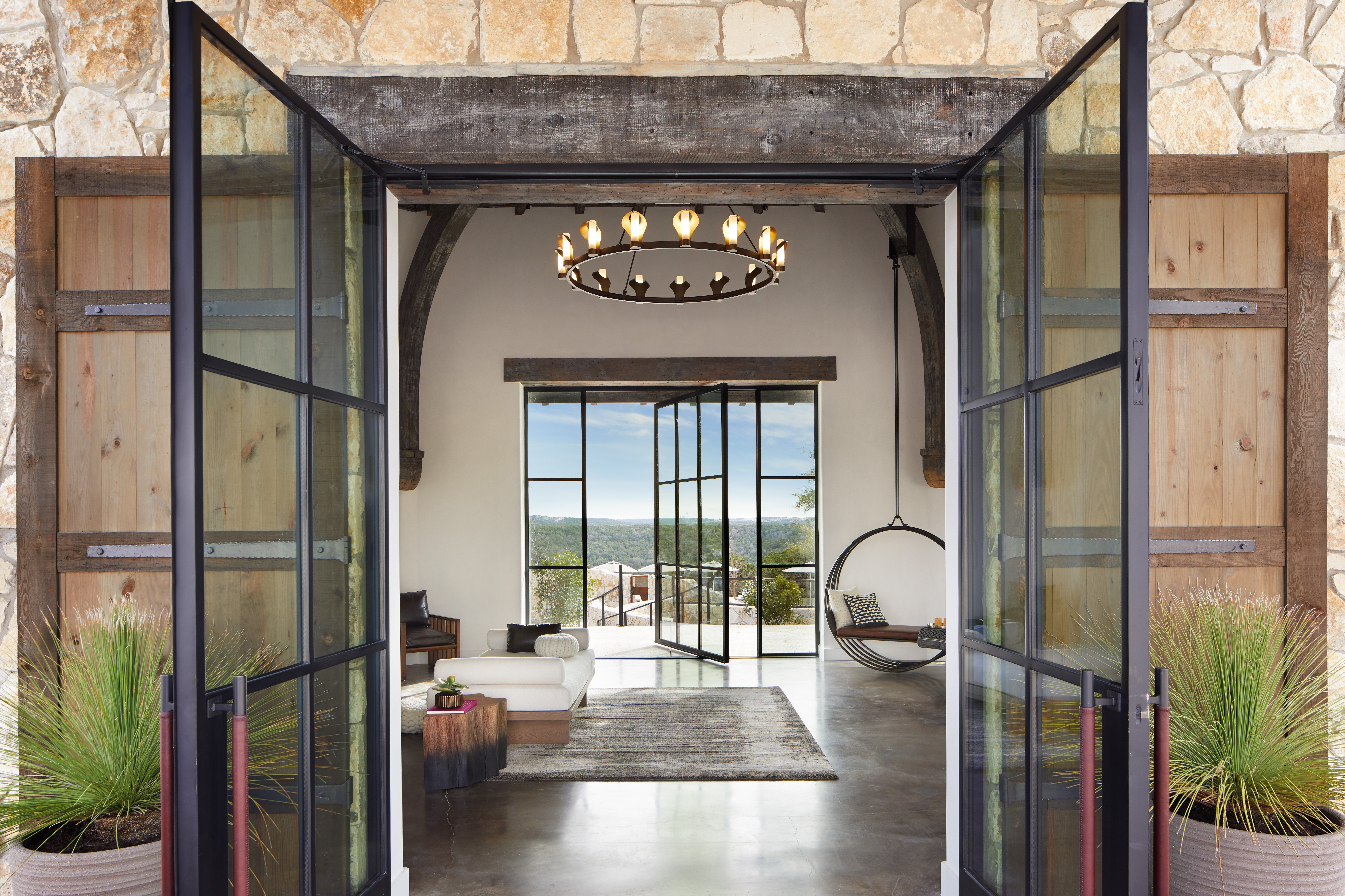 Arrival Center // Courtesy of James Baigrie for Miraval Austin