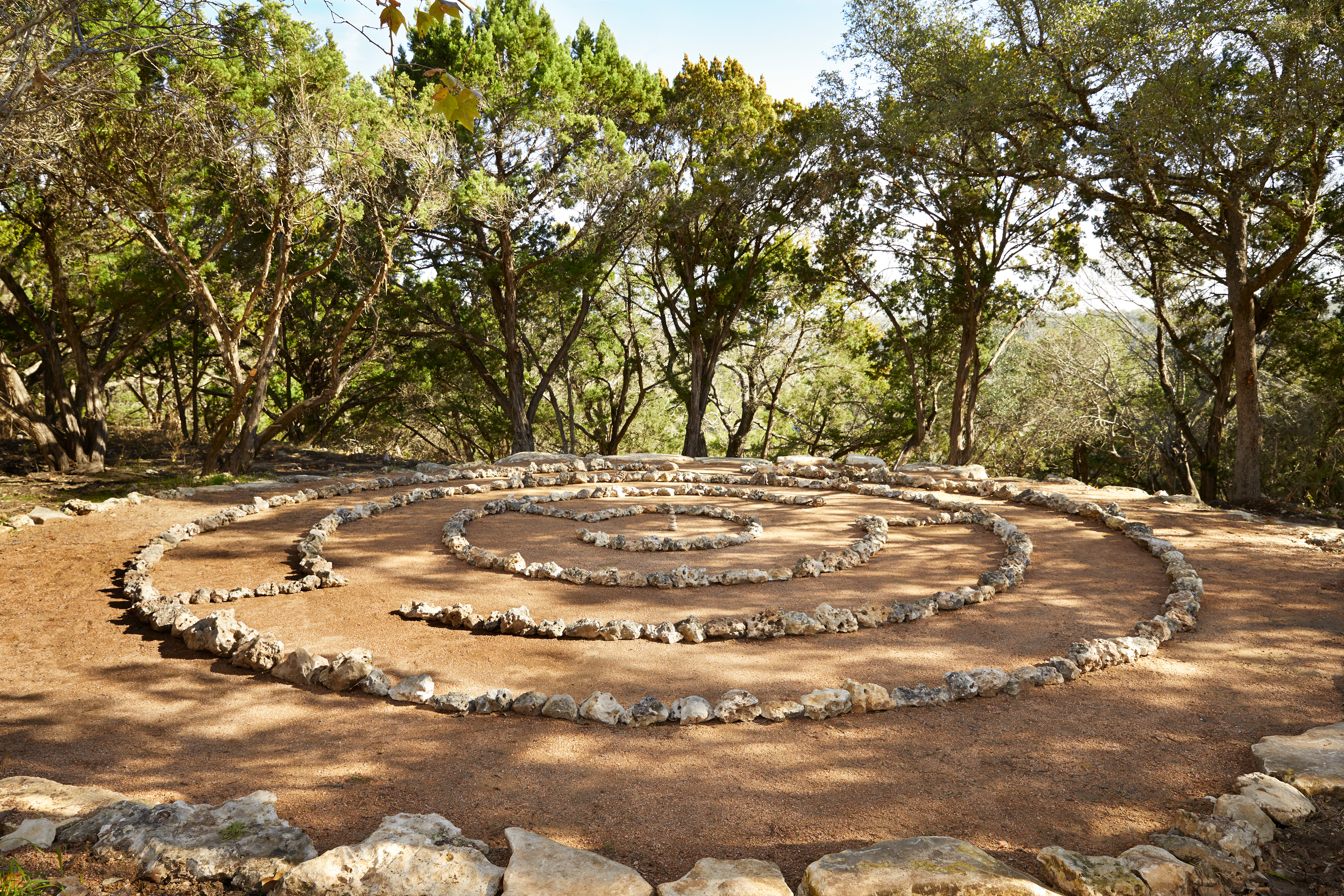 Labyrinth // Courtesy of James Baigrie for Miraval Austin