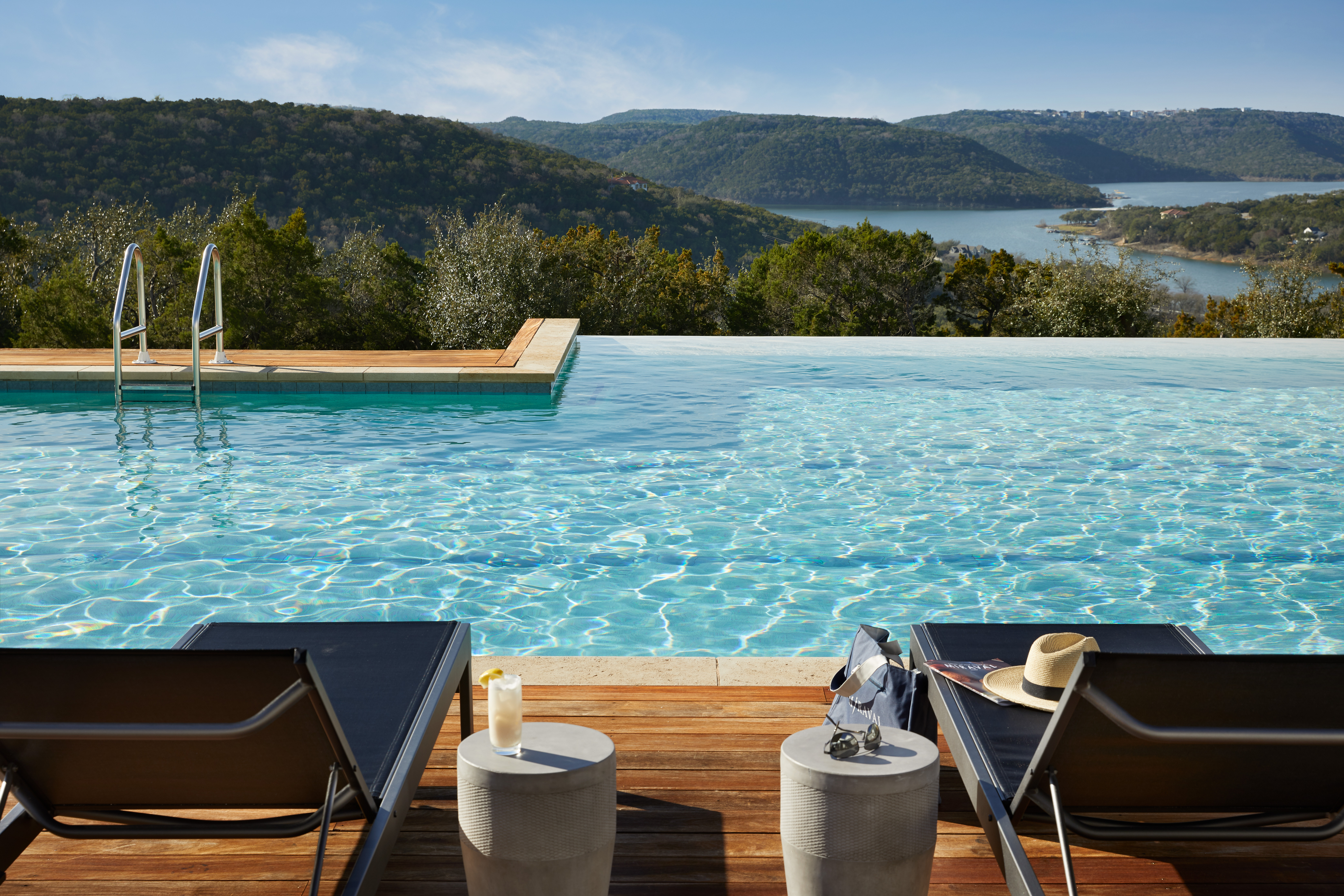 Serenity Pool 2 // Courtesy of James Baigrie for Miraval Austin
