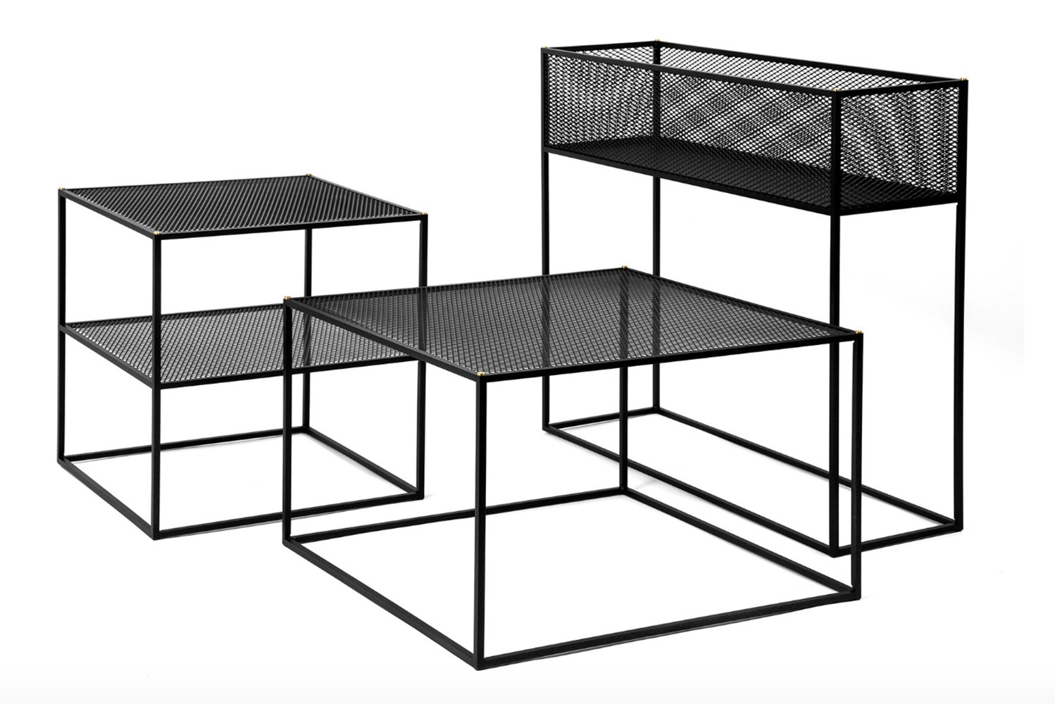 A collection of tables and planters, Meshed is made with practicality and design in mind.