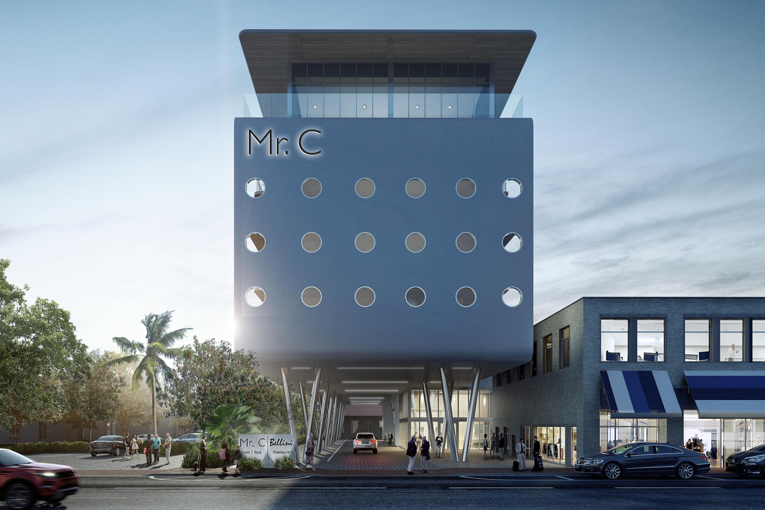 Mr. C Hotel is slated to open its first property in Florida this spring 2019.