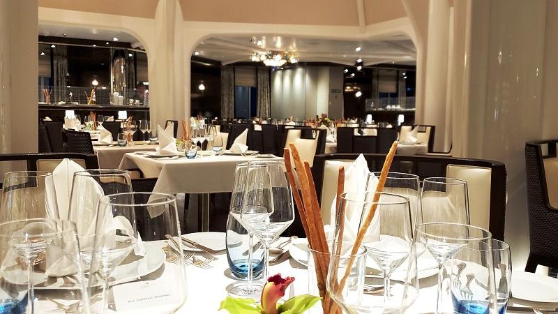 Main dining room, The Restaurant
