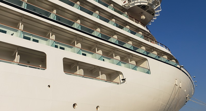 Bow of Seabourn Ovation
