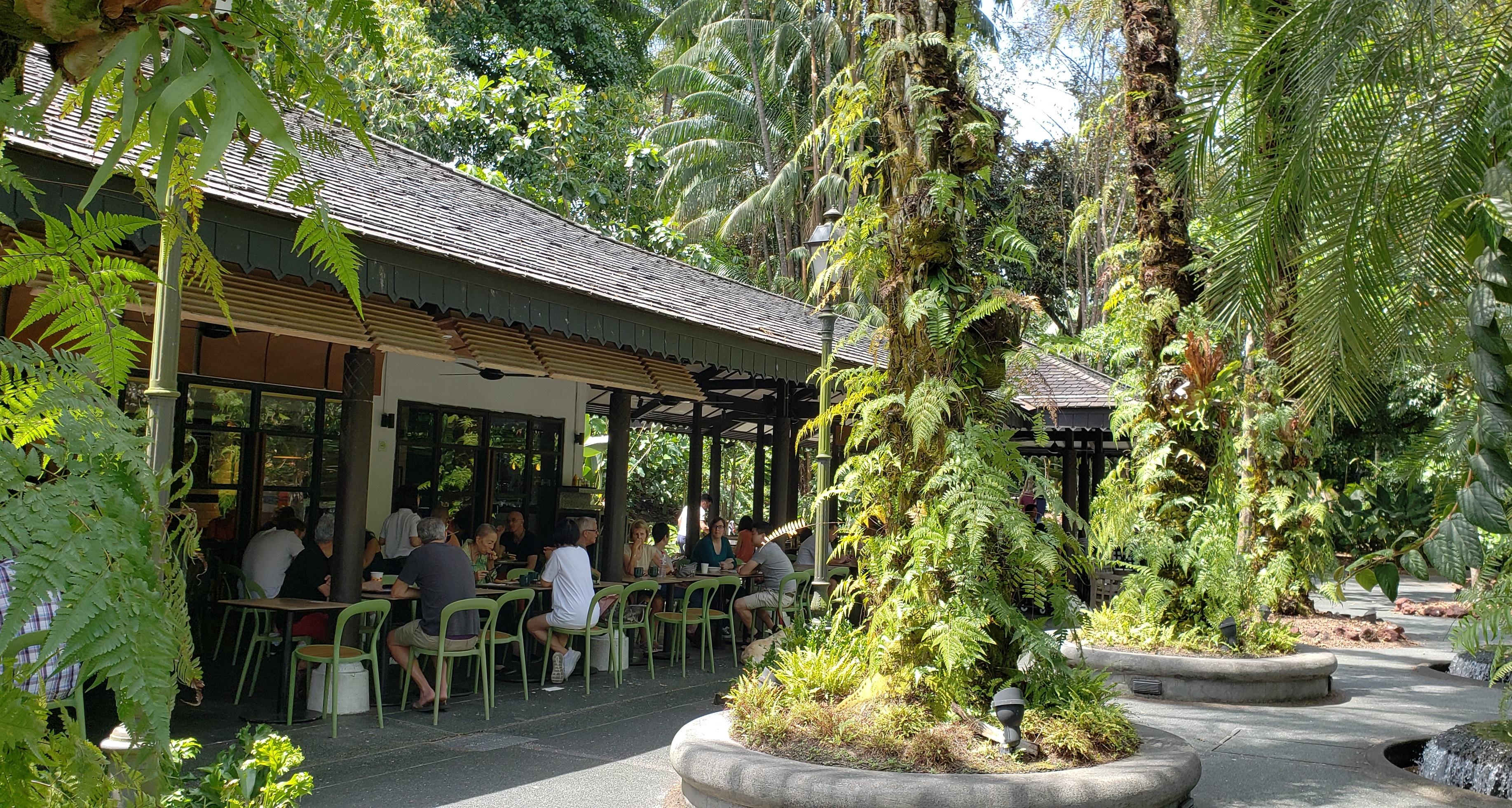 Casa Verde eatery at Singapore Botanic Gardens