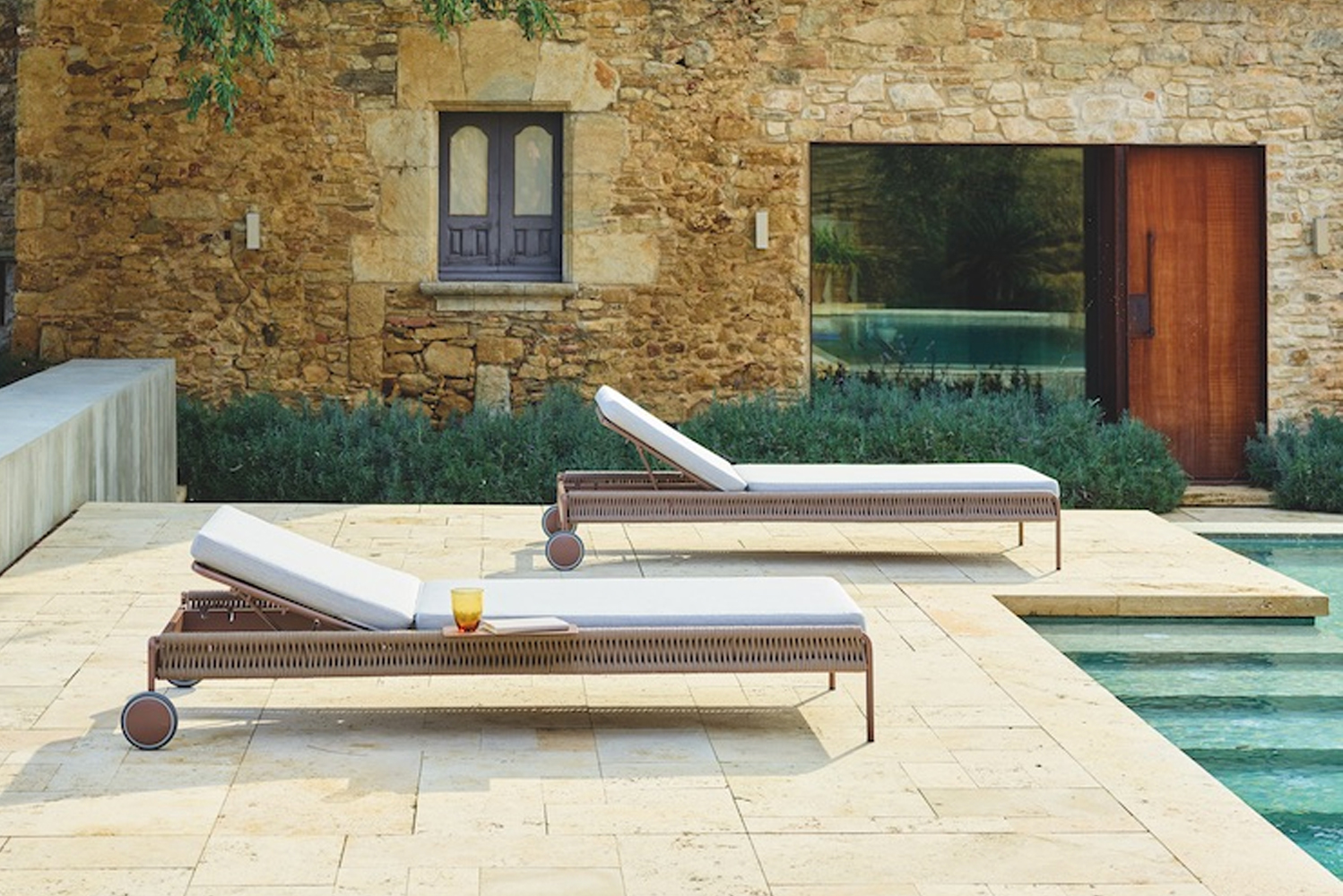 The collection is by designer Vincent Martinez for Spain-based outdoor furniture brand Point.
