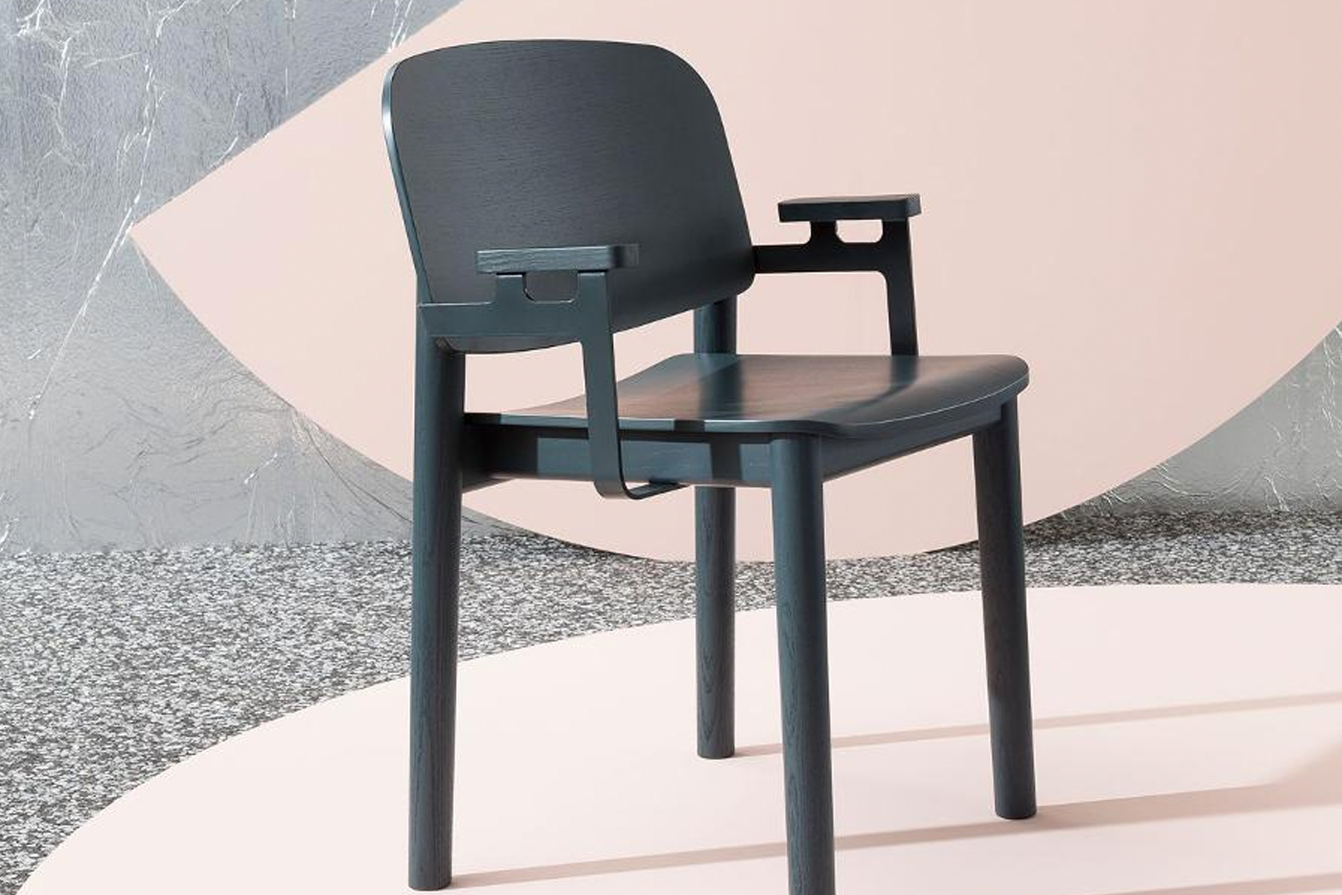 The chair is not named White for its color—there is a version in cream—but for its clean aesthetic.