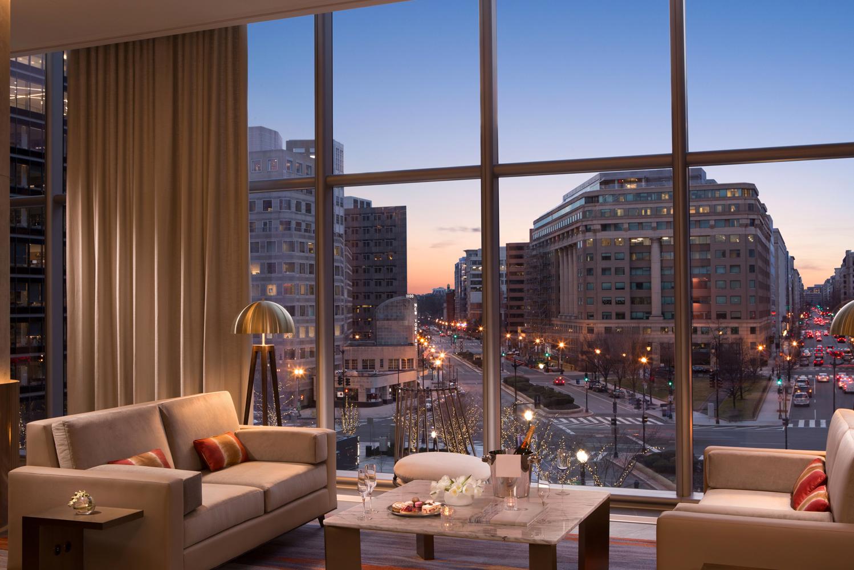 The 360-room, 10-floor hotel was designed by Pritzker Prize Laureates Herzog & de Meuron.