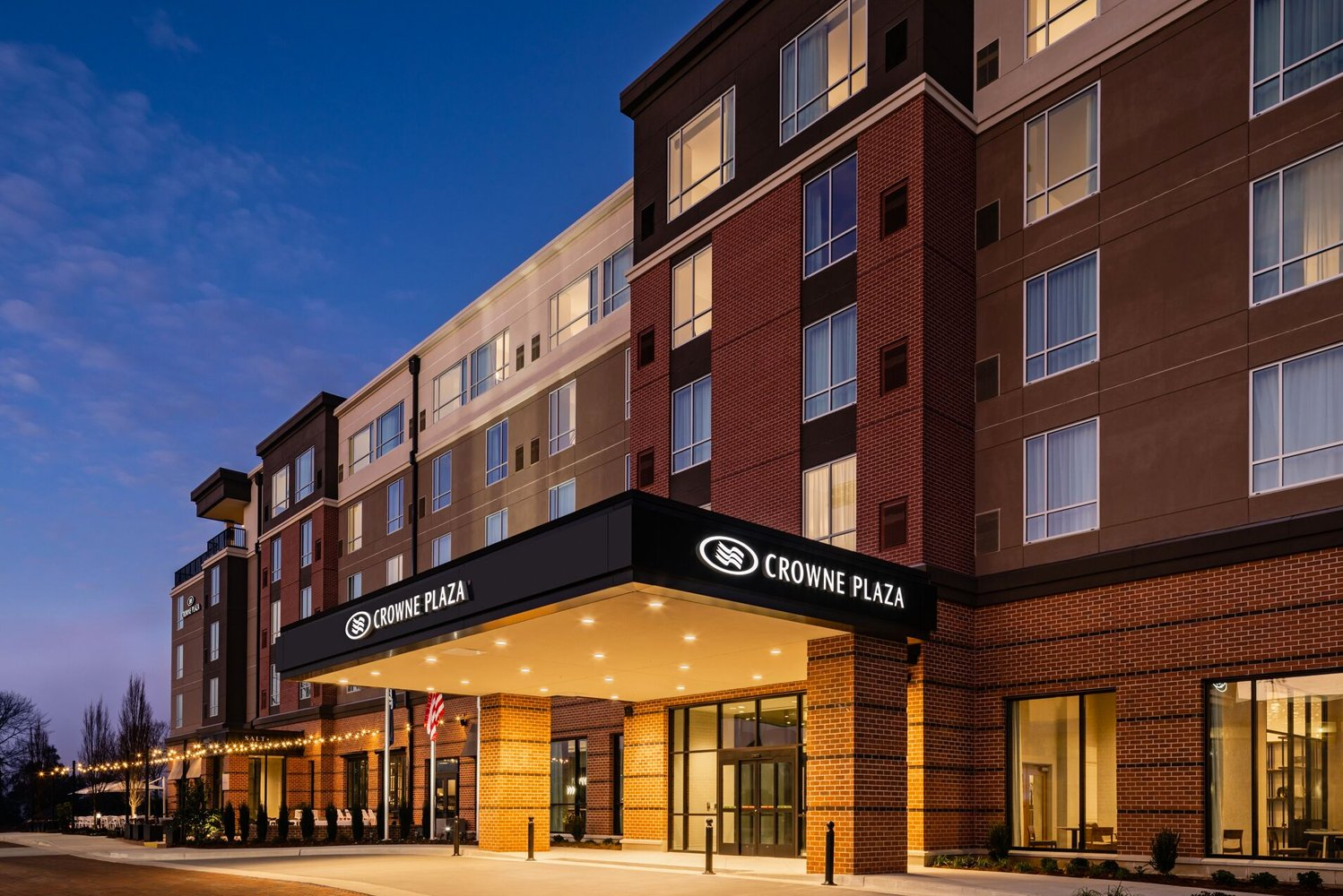 NorthPointe Hospitality Management opened the new Crowne Plaza North Augusta, located in the $200-million Riverside Village development.