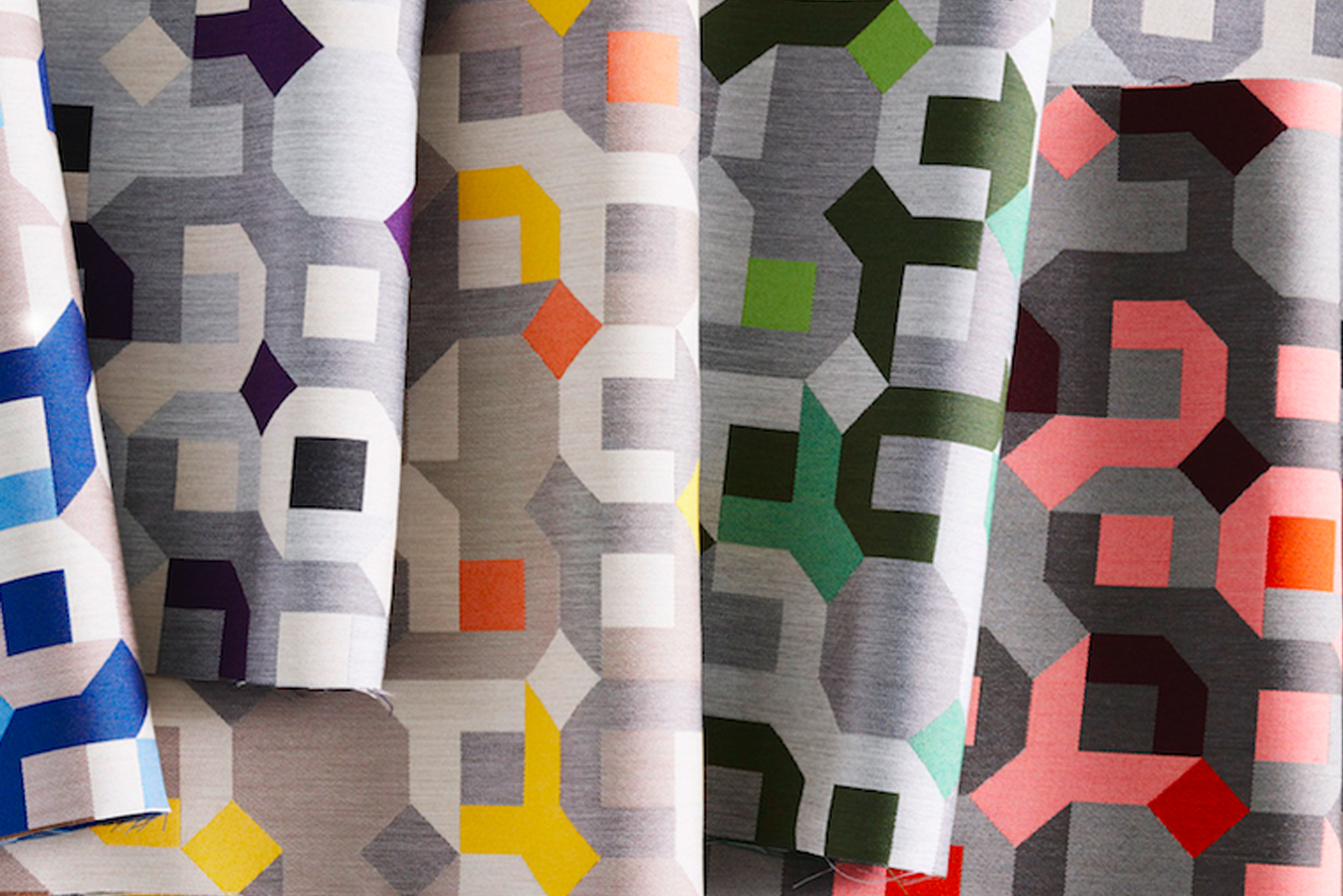 Carnegie launched a new collection of upholstery textiles, Game Theory.