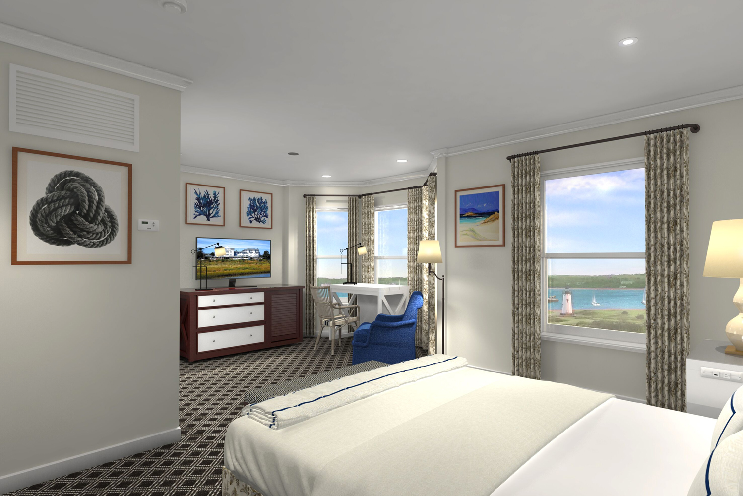 Harbor View Hotel, a property that opened in Martha's Vineyard 128 years ago, is slated to reopen on May 1 following a top-to-bottom renovation.