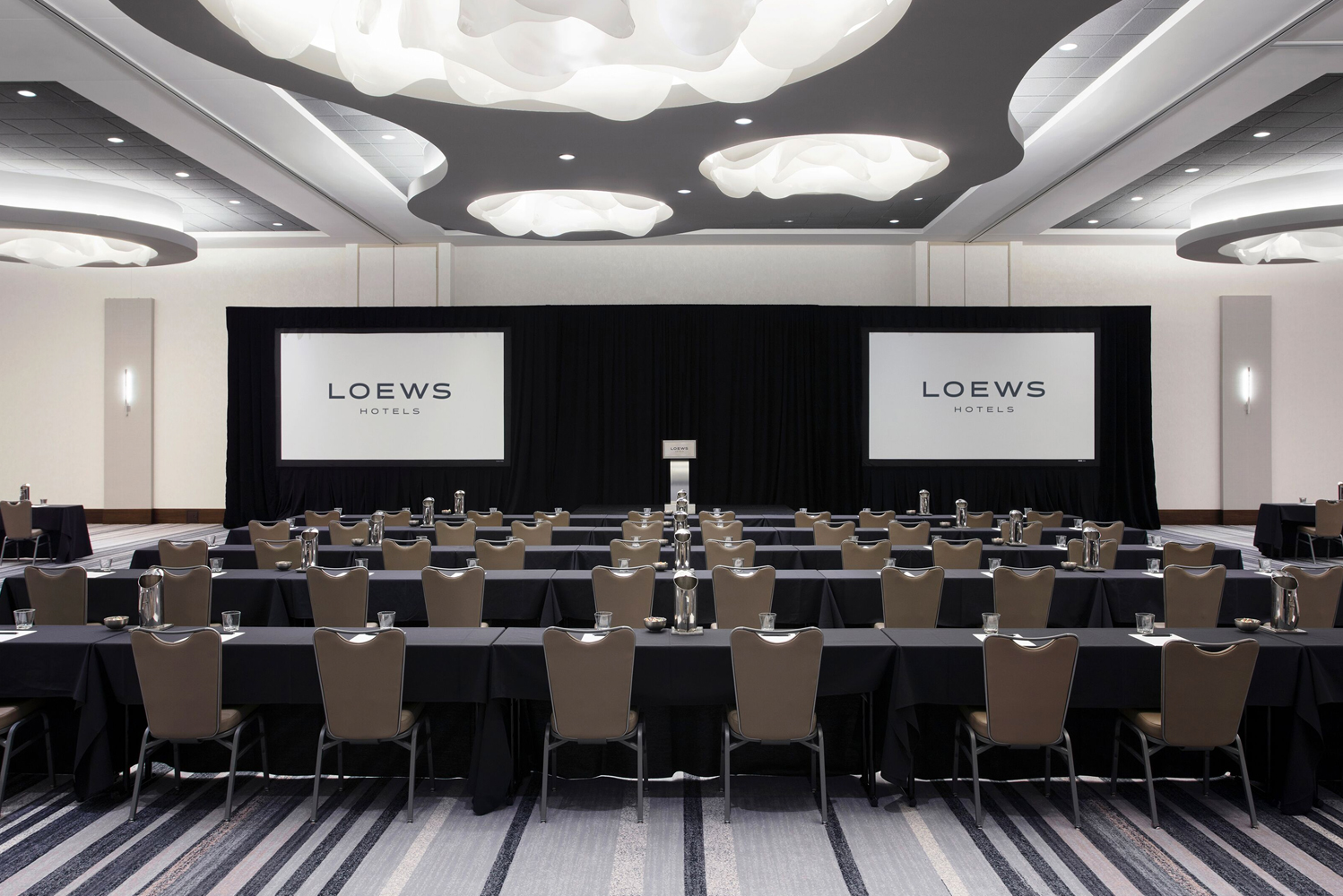 The hotel has 53,000 square feet of meeting and event space.
