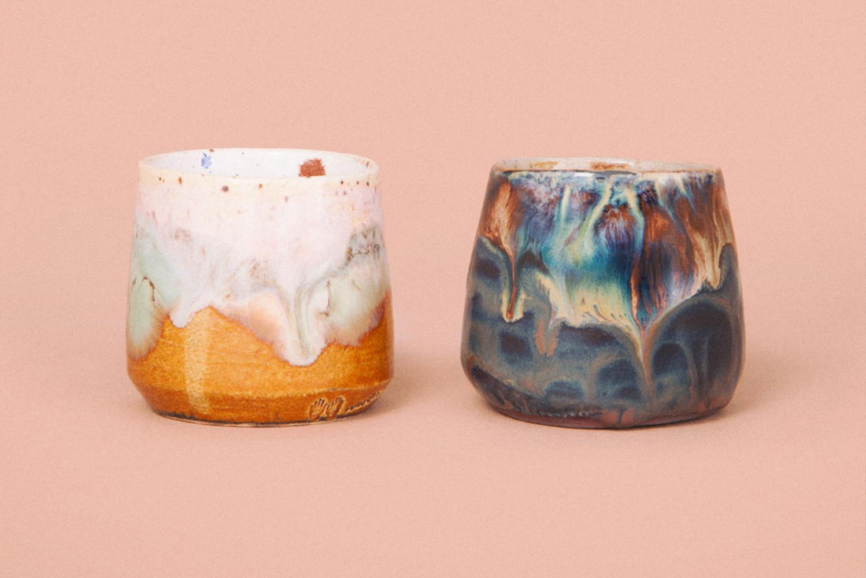 Nanushka and Noha Studio collaborated to launch the Nanoha ceramics.