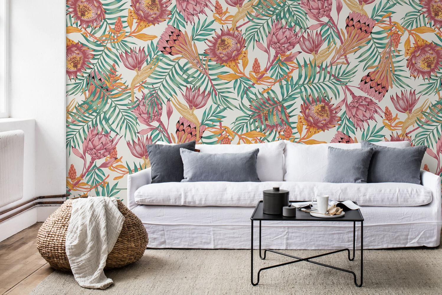 Some of the wallpapers were said to be inspired by nature.