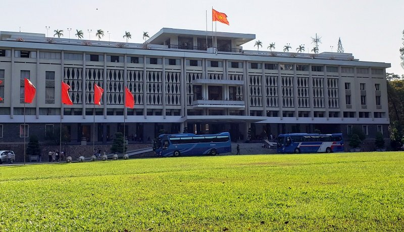 Reunification Palace, Ho Chi Minh City.