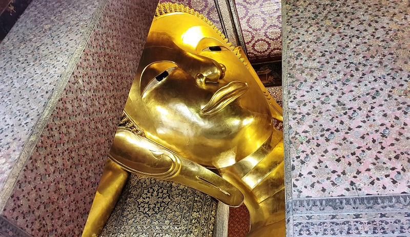 Wat Pho, the Temple of the Reclining Buddha