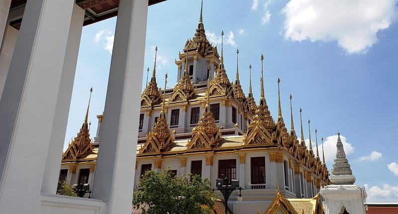 Wat Ratchanadda temple complex.