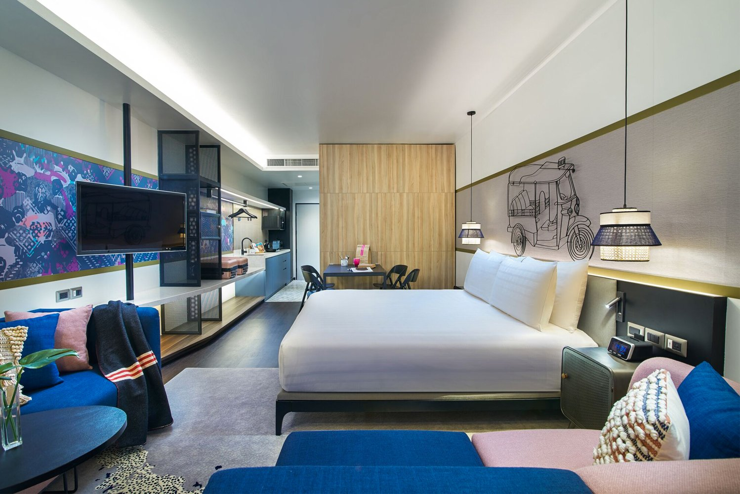 HBA DNA announced its first major project with Bangkok-based ONYX Hospitality Group – Shama Hub, an all-new serviced apartments and co-living concept.