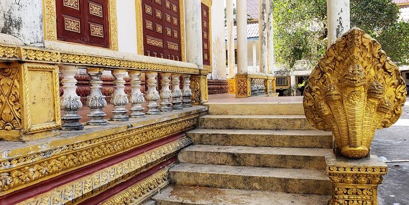 Exterior of Wat Krom