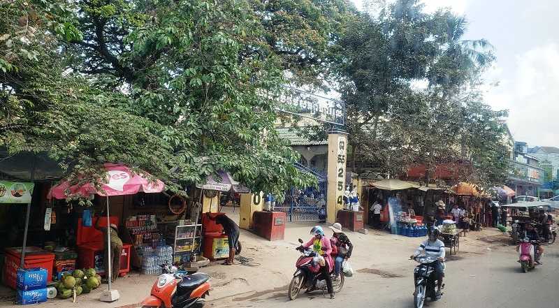 Street scene in Sihanoukville.
