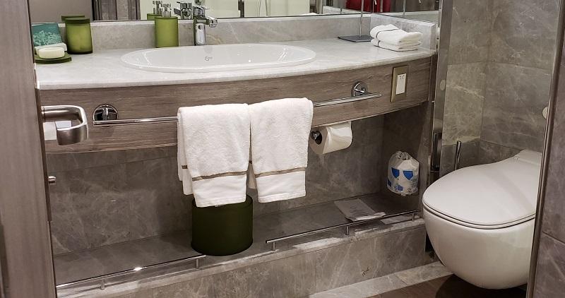 Bathroom, Suite No. 644