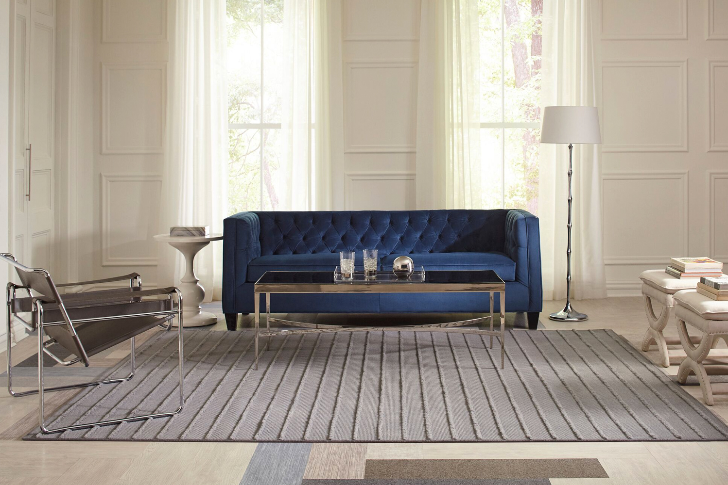 Tarkett launched the Woven Fringe Collection.