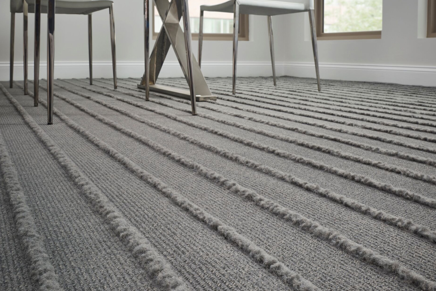 The Woven Fringe Collection is fluorine free, using Eco-Ensure (C2C Gold Material Health certified as a stain resistant treatment).