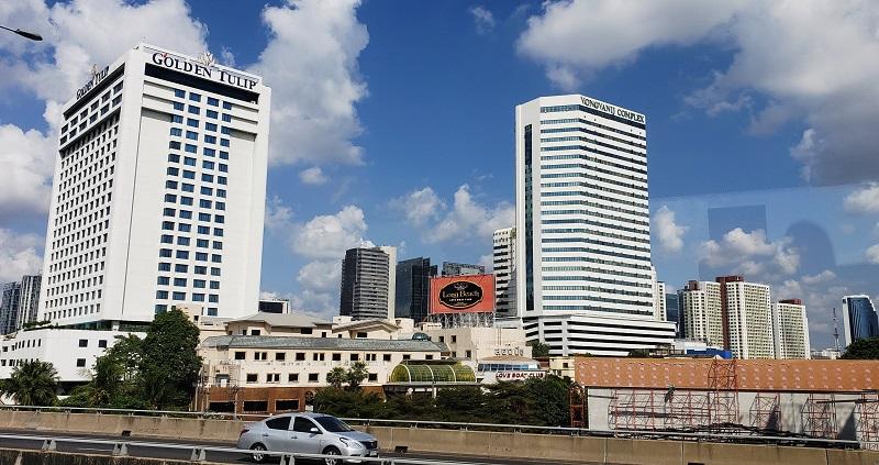 Modern buildings in Bangkok
