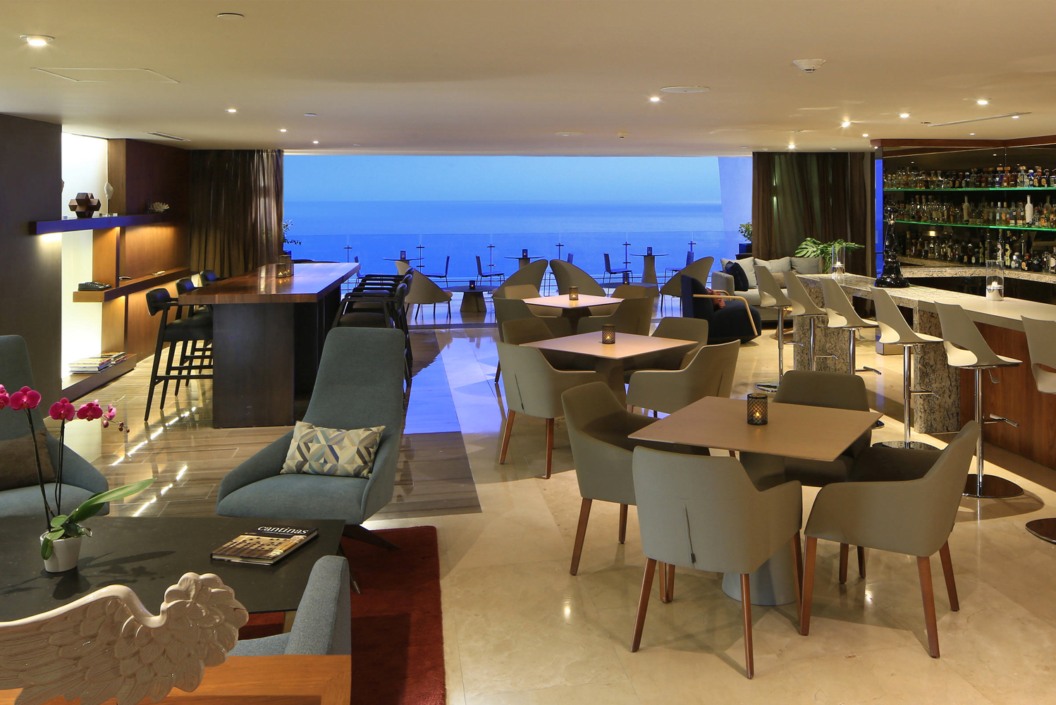 The AAA Five Diamond Grand Velas Los Cabos opened its Tequila Mezcal Bar.