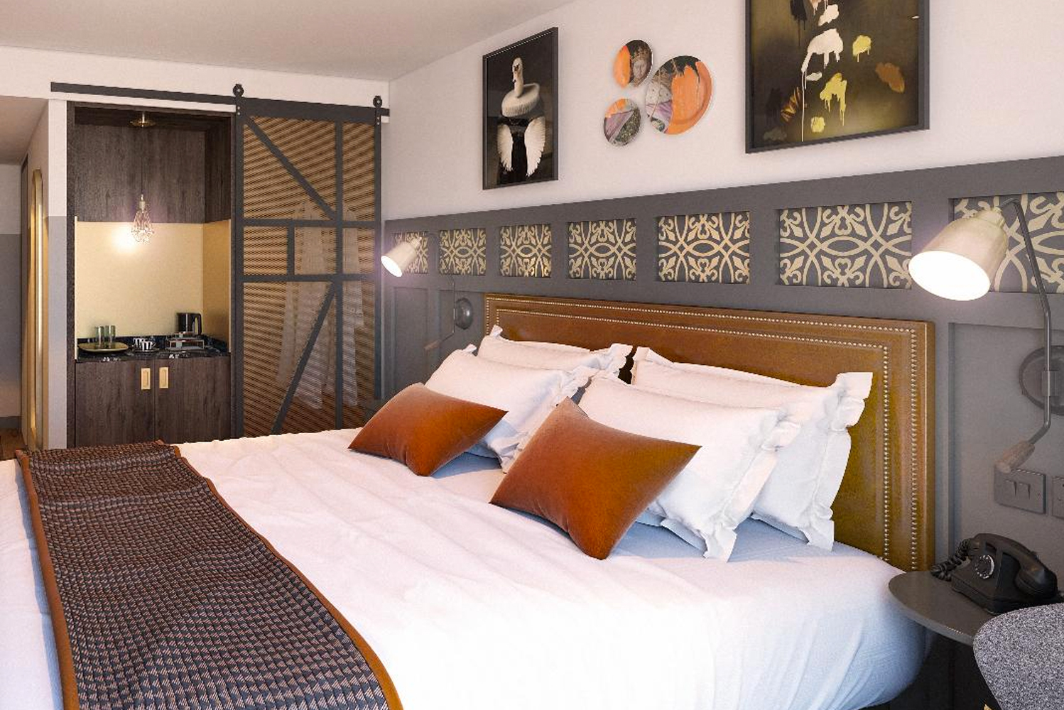 Hotel Indigo is scheduled to open a new boutique hotel, Hotel Indigo Chester, later this year under a franchise agreement with Castlebridge Hospitality.