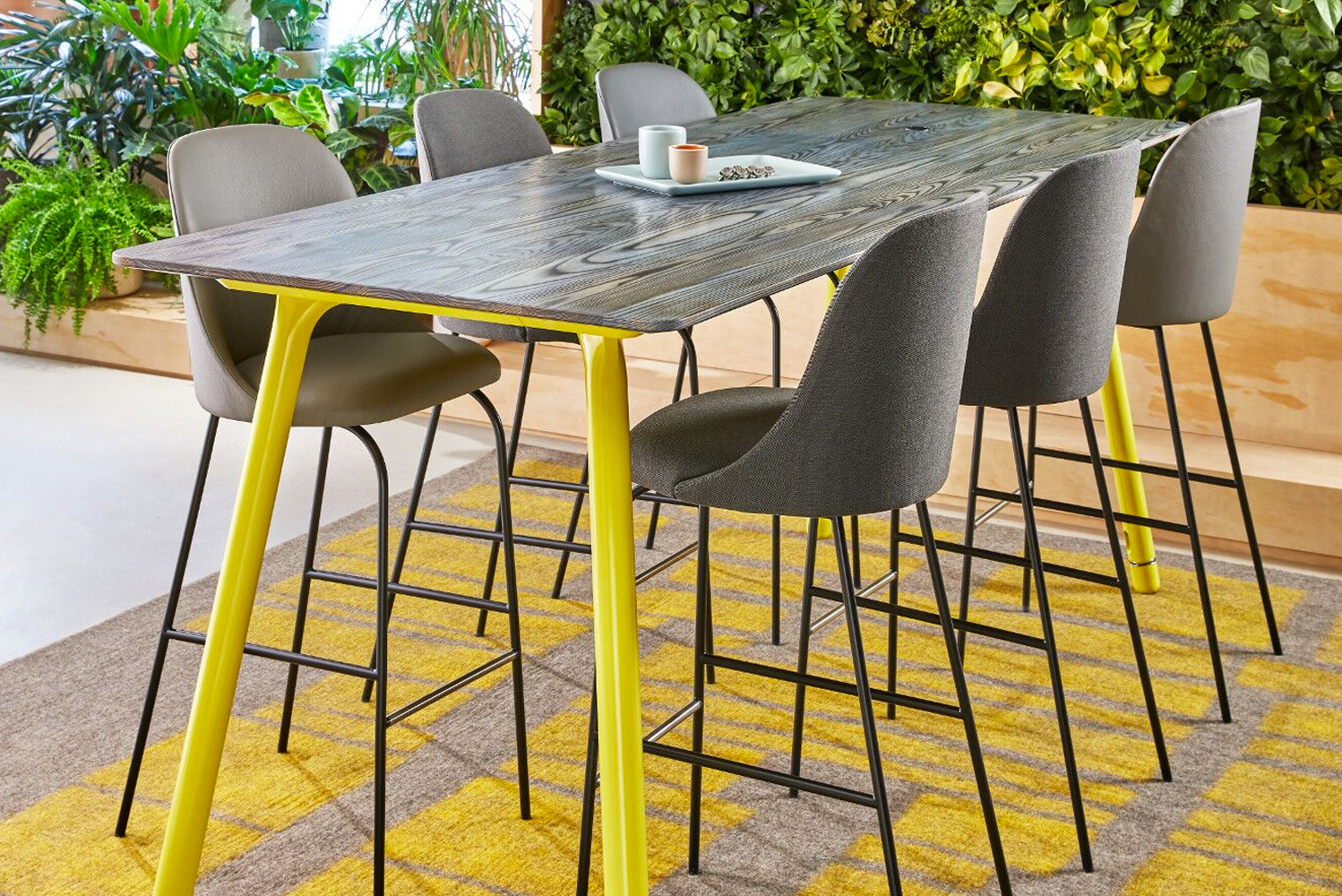 Introducing Potrero415 Light, a lighter scale version of the Potrero415 table series from Coalesse.