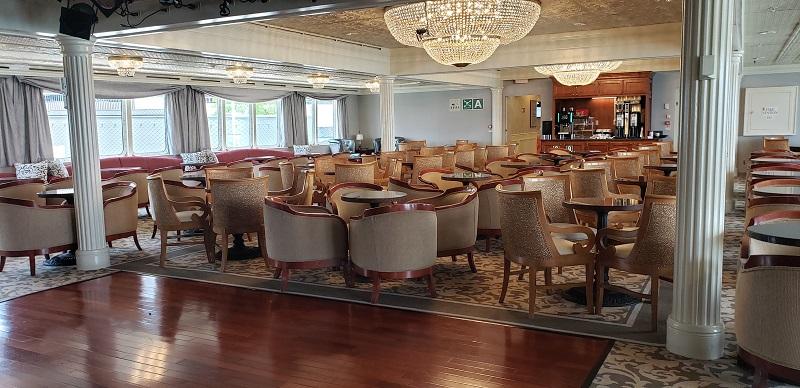 Compass Lounge has a dance floor.